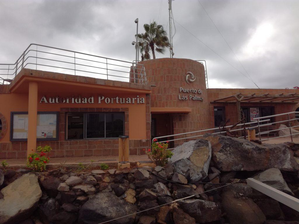 Havnekontoret i Marina Las Palmas