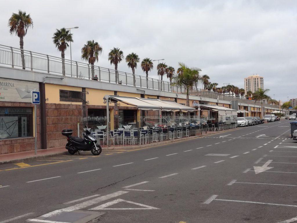 Havnefronten i Las Palmas