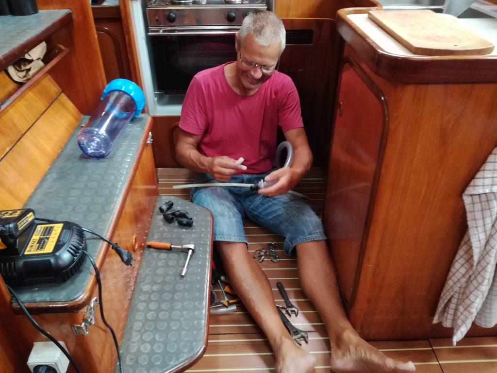 Watermakeren samles i Las Palmas
