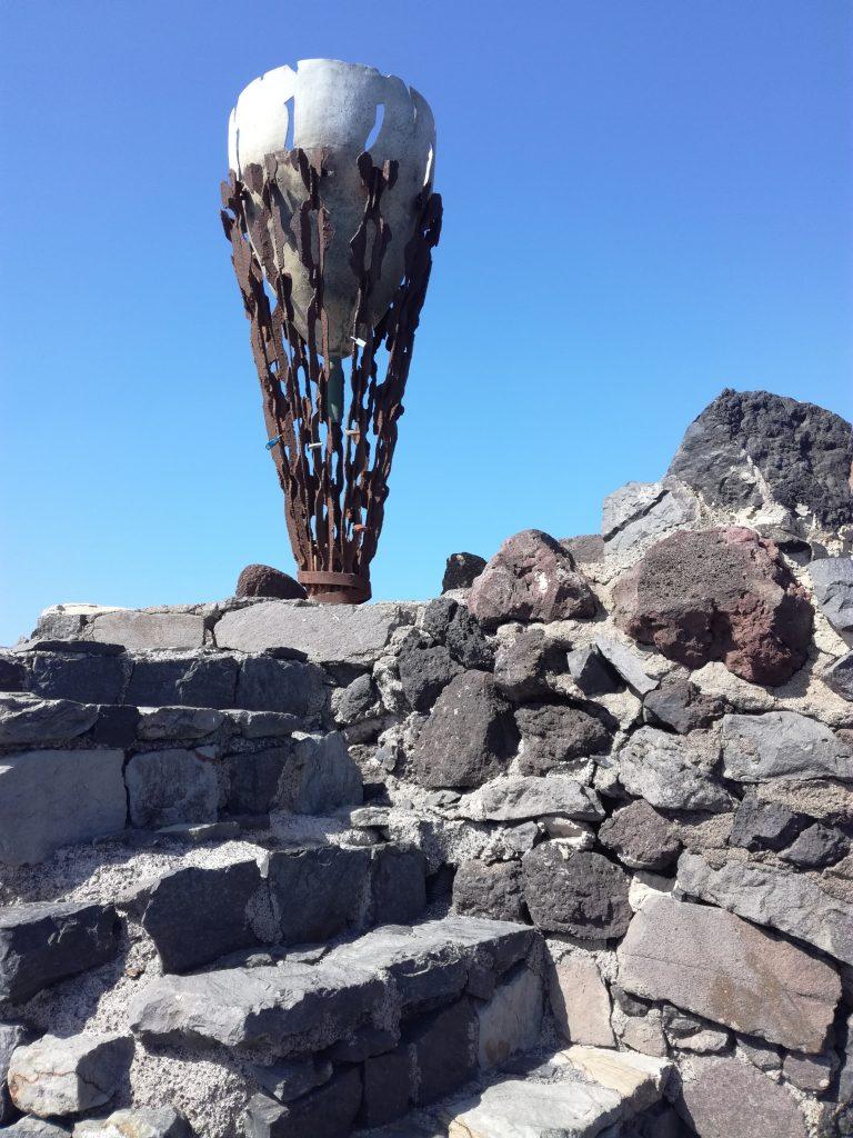 Den olympiske ild var her, San Sebastian