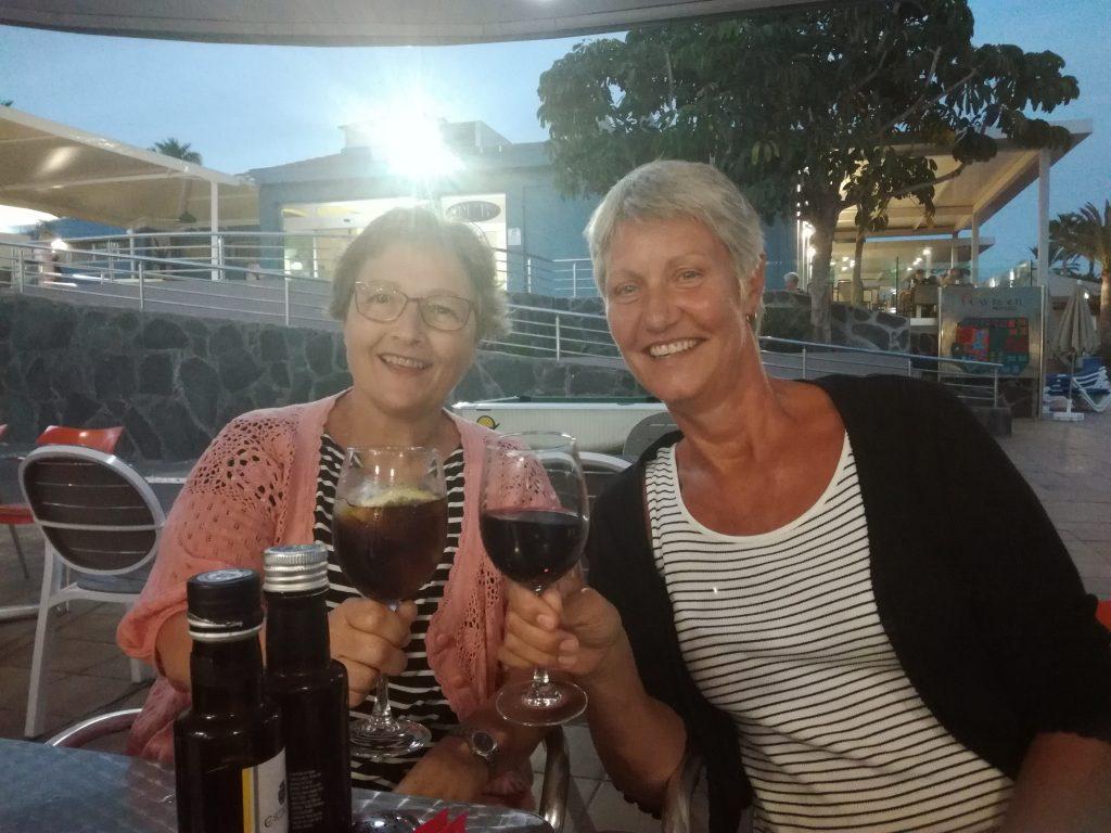 Besøg af Sonja i Puerto Mogan, Gran Canaria