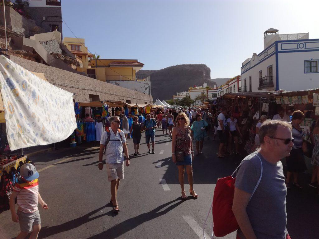 Marked i Puerto Mogan, Gran Canaria