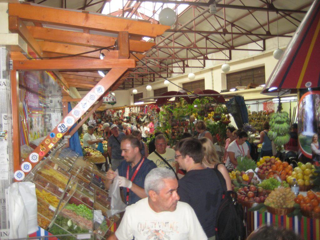 Fødevaremarked i Funchal, Madeira