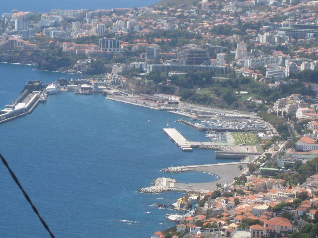 Havnen i Funchal, Madeira