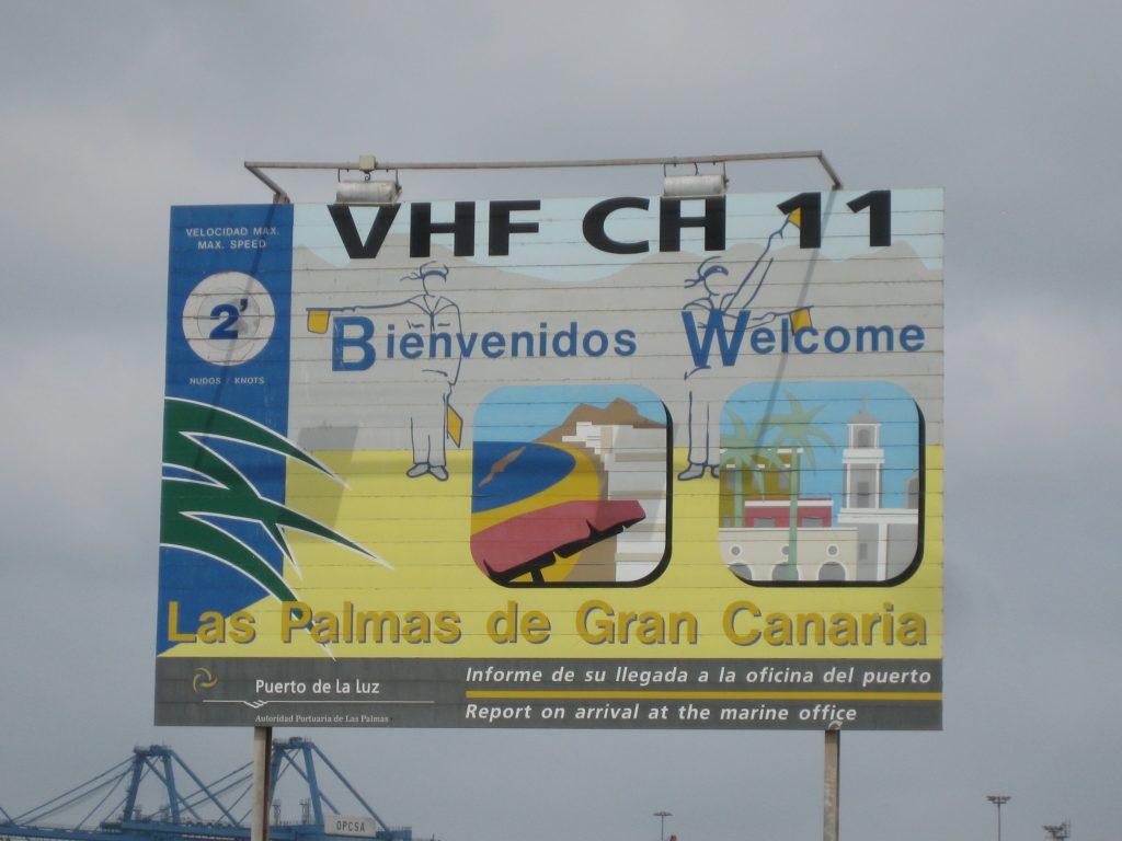 Velkommen til Las Palmas