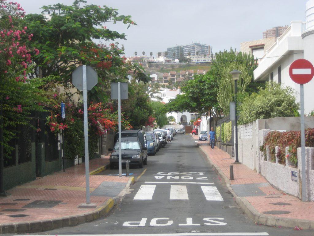 Boligområde i Las Palmas