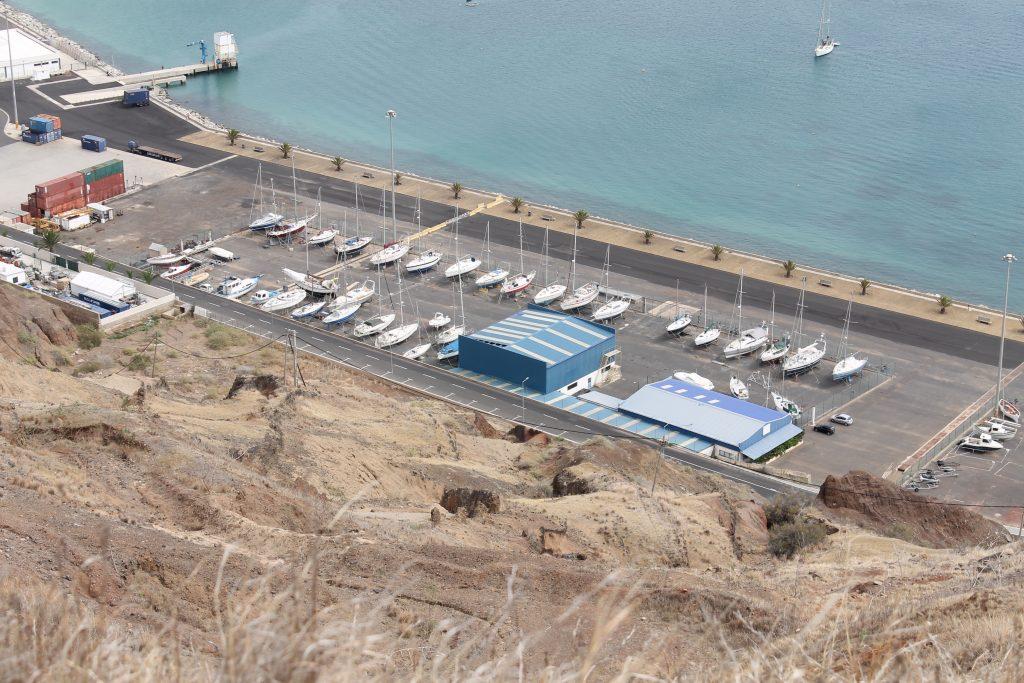 Landpladser på Porto Santo