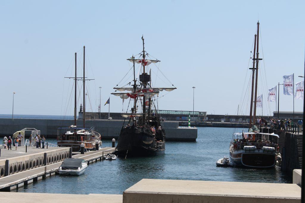 Christopher Columbus skib, Santa Maria, Funchal, Madeira