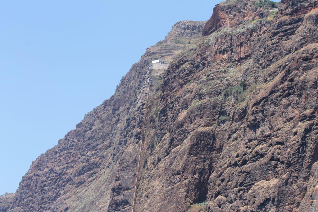 Svævebane til vandet, Madeira