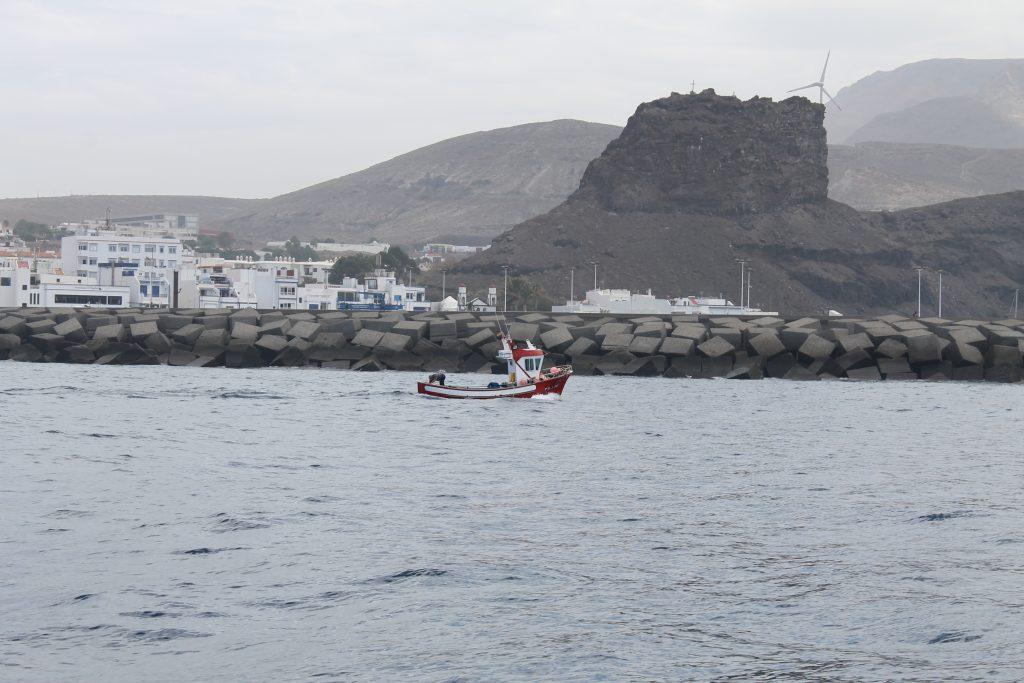 Fisker på vej hjem til Nieves