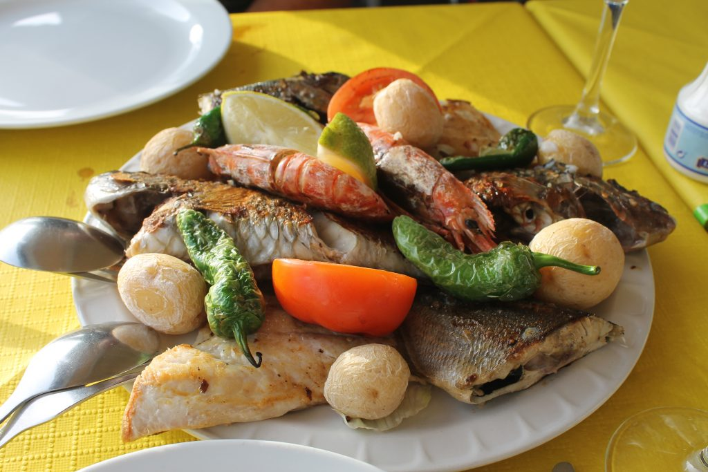 Lokal specialitet i Nieves