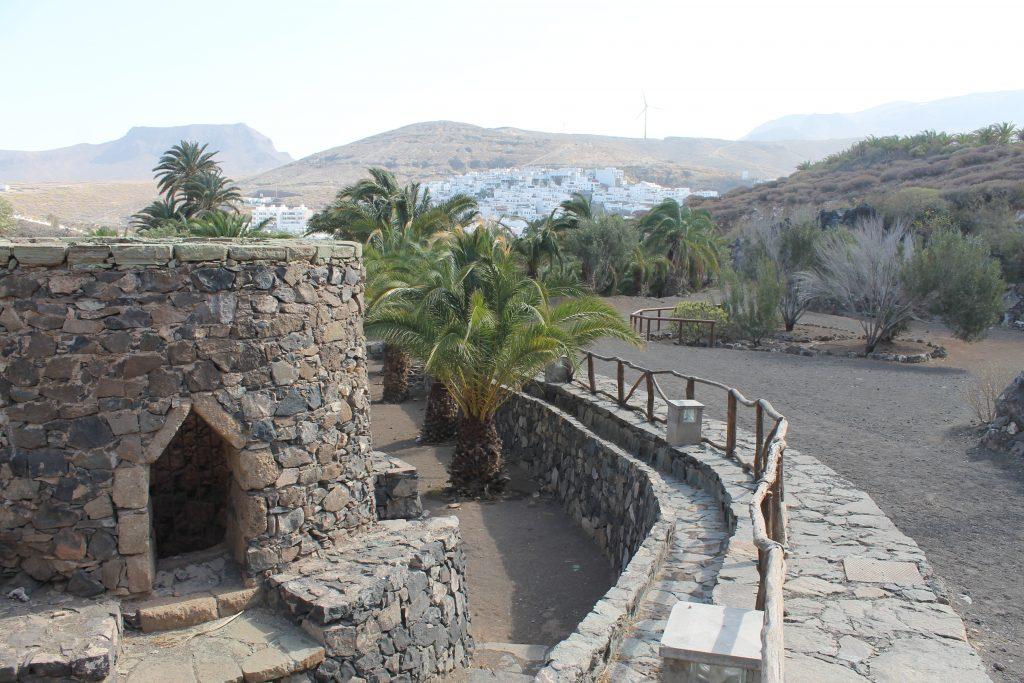 Lejrskole mellem Nieves og Agaete