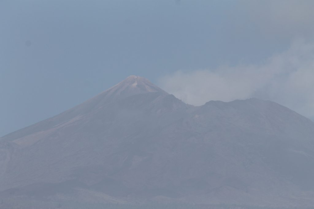 Teide i disen, Tenerife