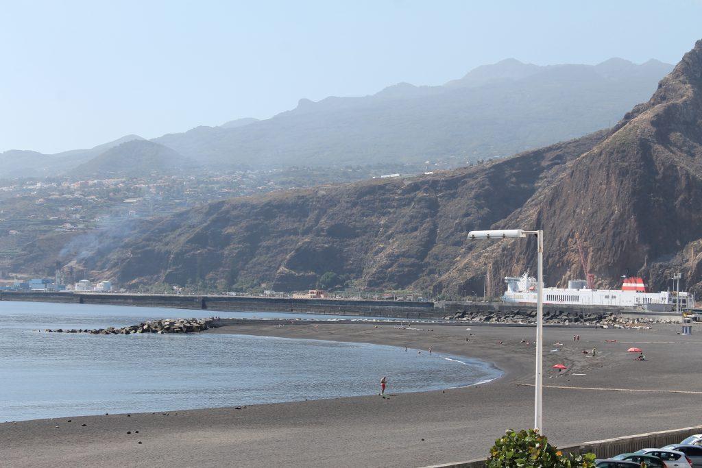 Stranden ved Santa Cruz, La Palma