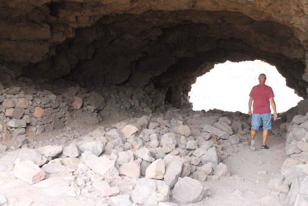 Oldtidshuler på Gran Canaria