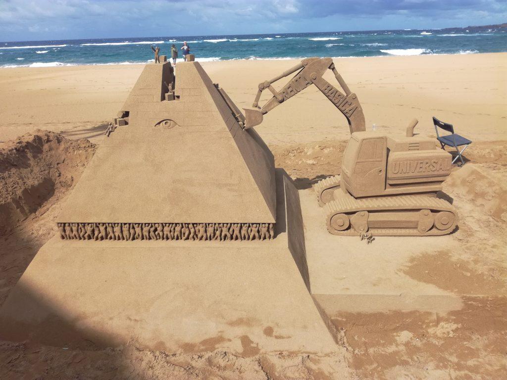 Sandskulpturer i Las Palmas