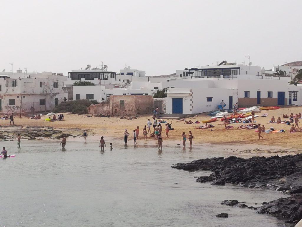 Stranden ved Caleta del Sebo