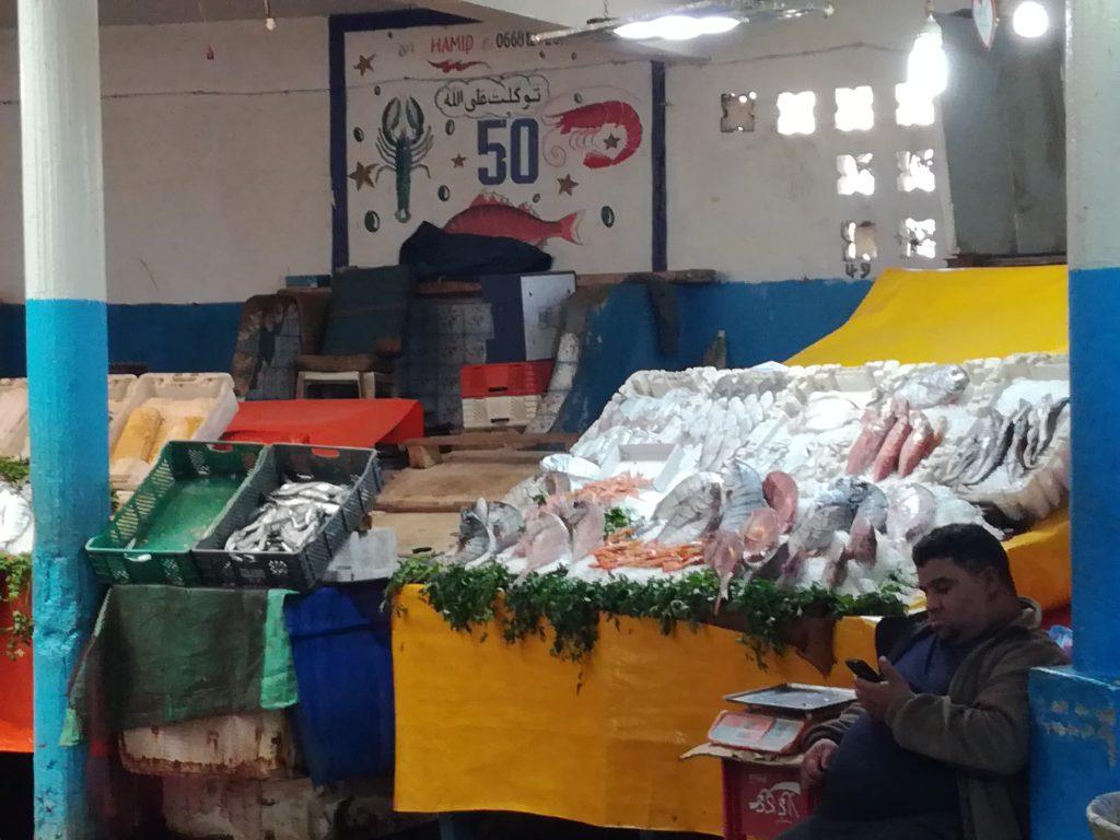 Det lokale fiskemarked