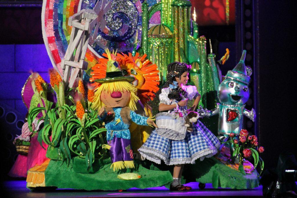 Små karnevalsdronninger