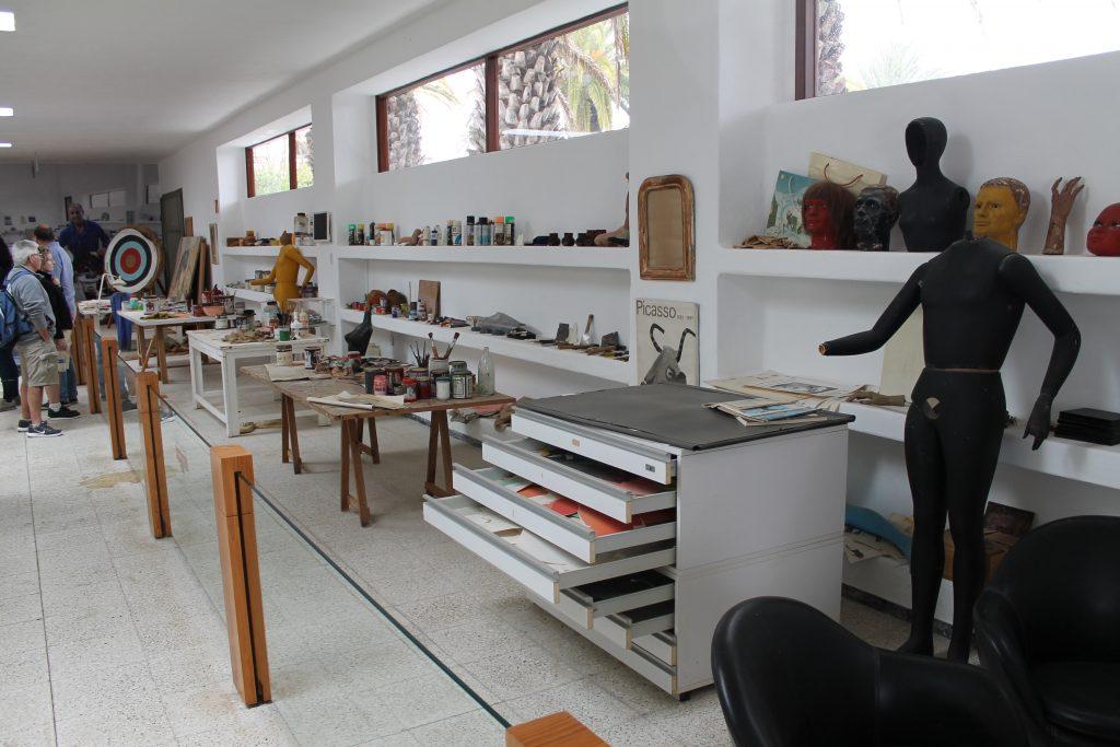 Cáesar Manrique's atelier i Haria
