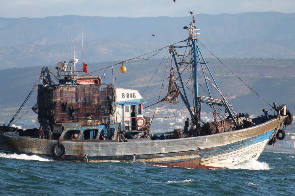 Fiskere ud for Agadir
