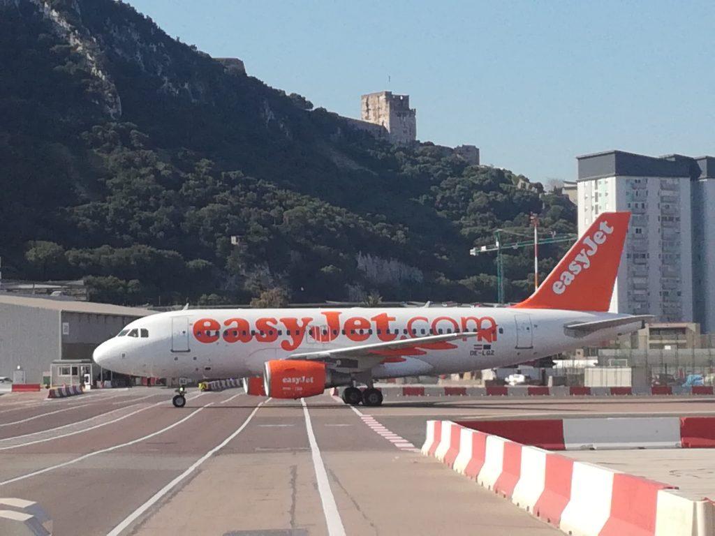 Gibraltar lufthavns landingsbane