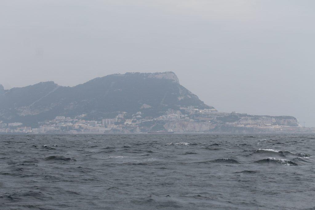 På vej til Gibraltar