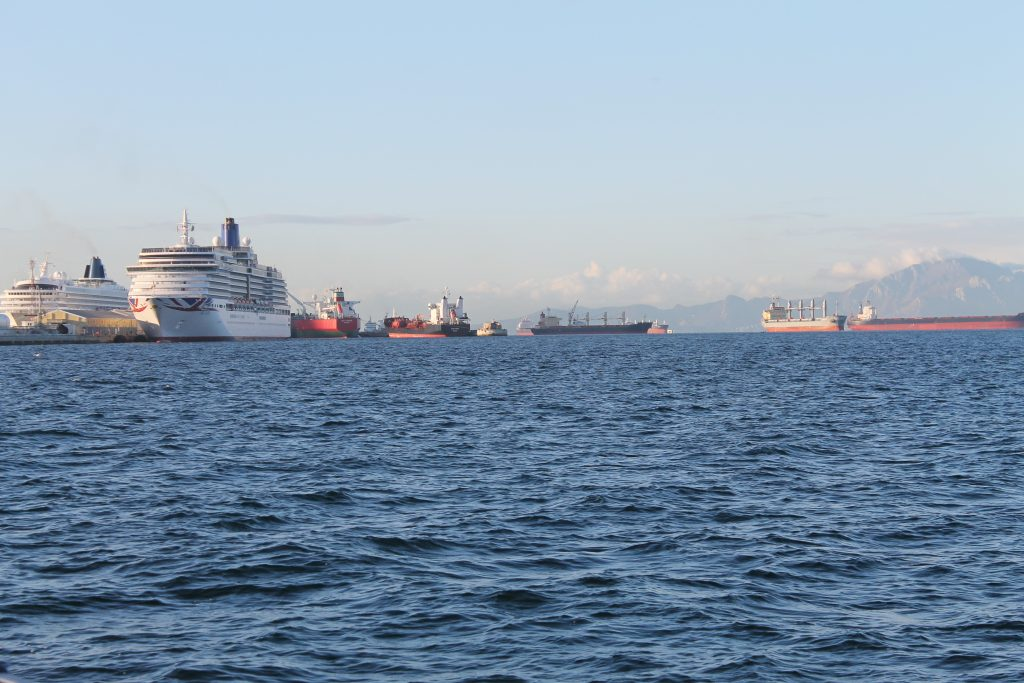Afrejse fra Gibraltar