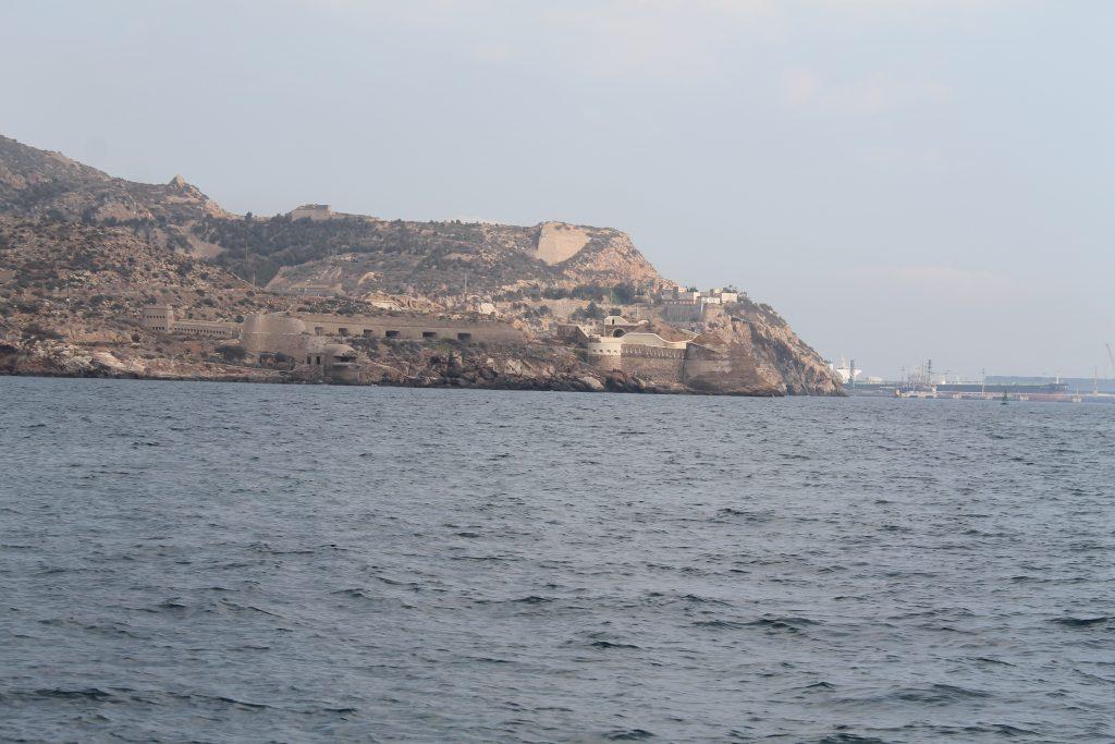 Indsejlingen til Cartagena