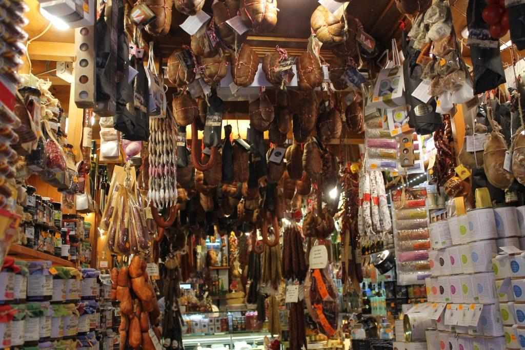 Delikatessebutik i Palma de Mallorca