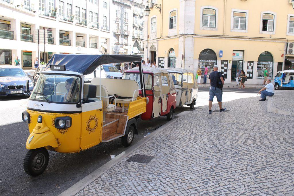 Tuk tuk i Lissabon