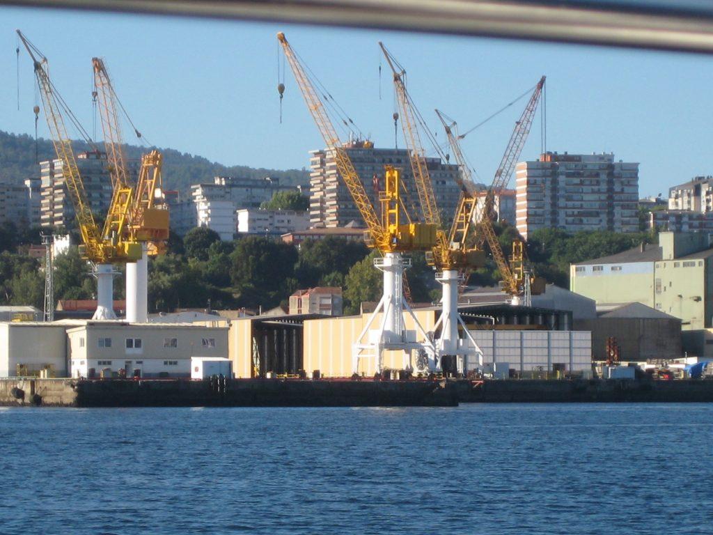 Havnen ved Vigo