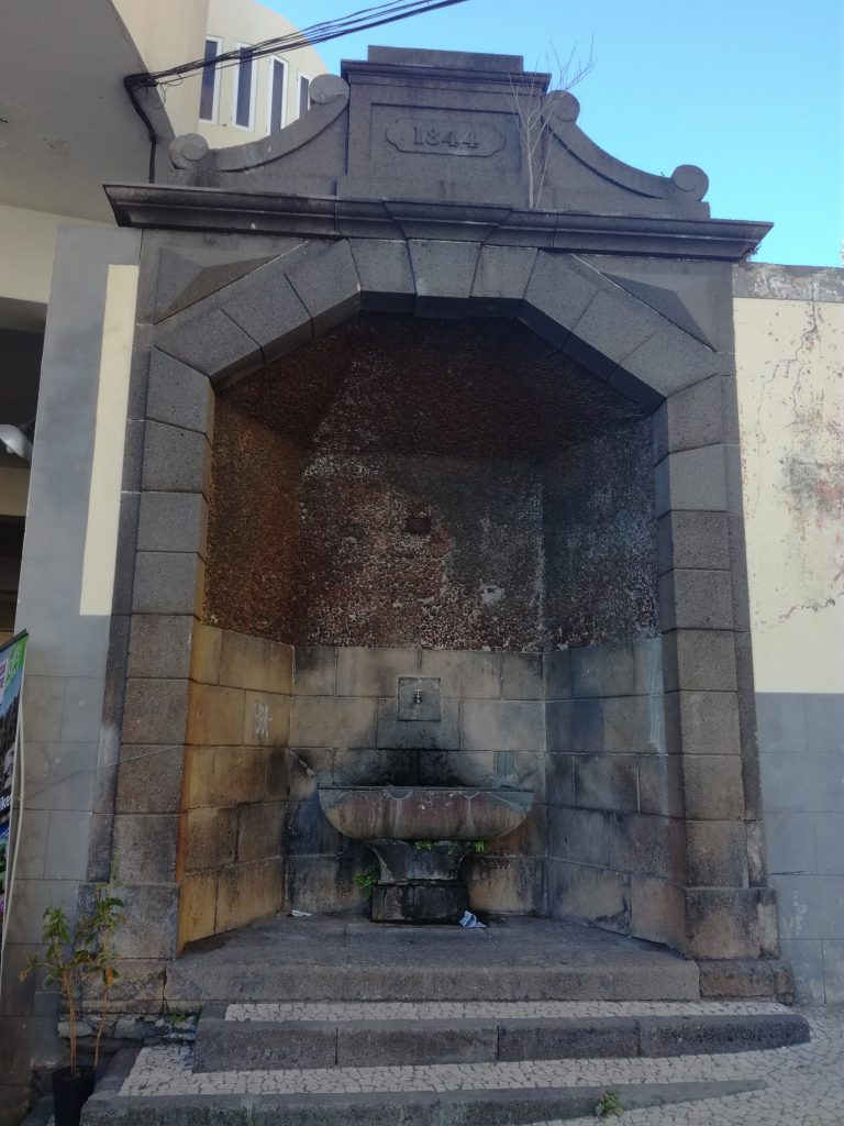 Den ægte brønd, Funchal, Madeira