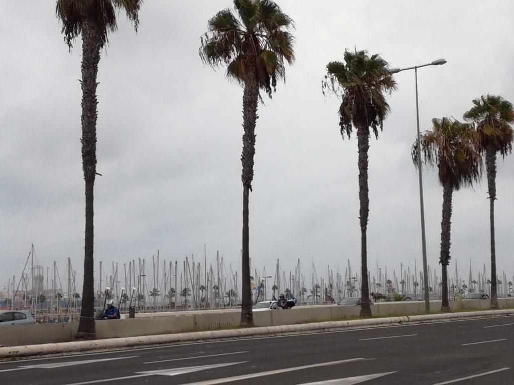 Havnepromenaden i Las Palmas