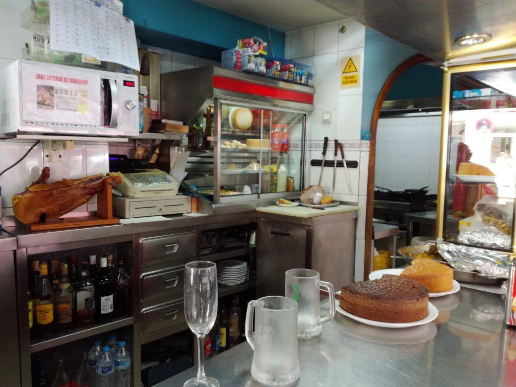 Hyggelig lokal café i Las Palmas