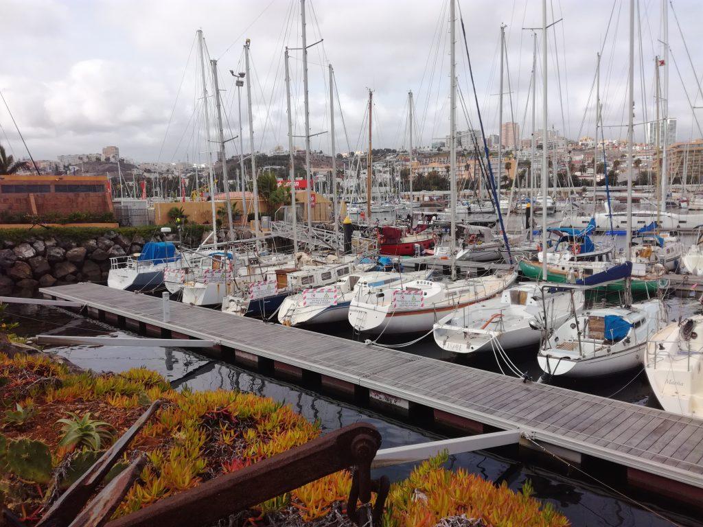 Skrotbåde i Las Palmas