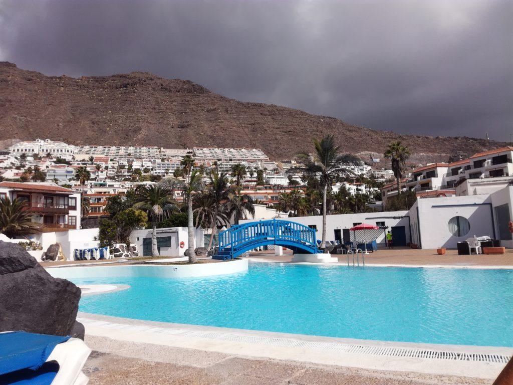 Offentlig swimmingpool i Los Gigantos, Tenerife