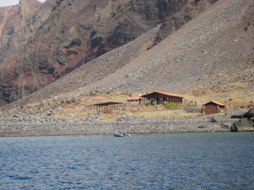 Vagtens hus i Desertas Naturreservat