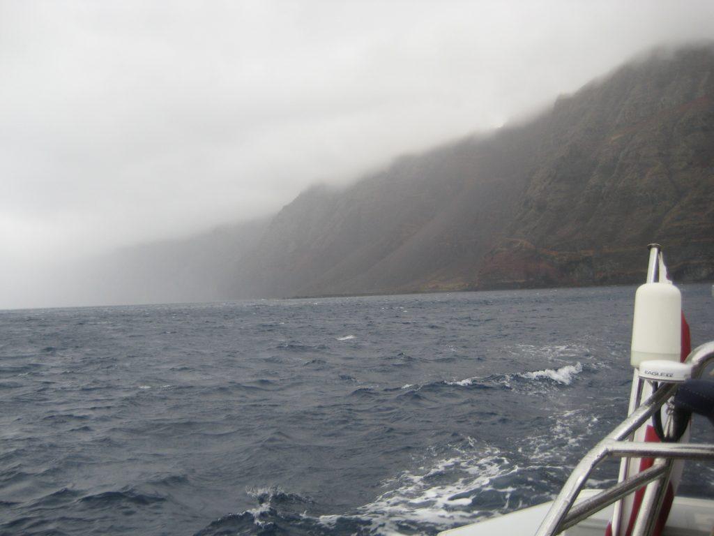 På vej til Salvagem Naturreservat