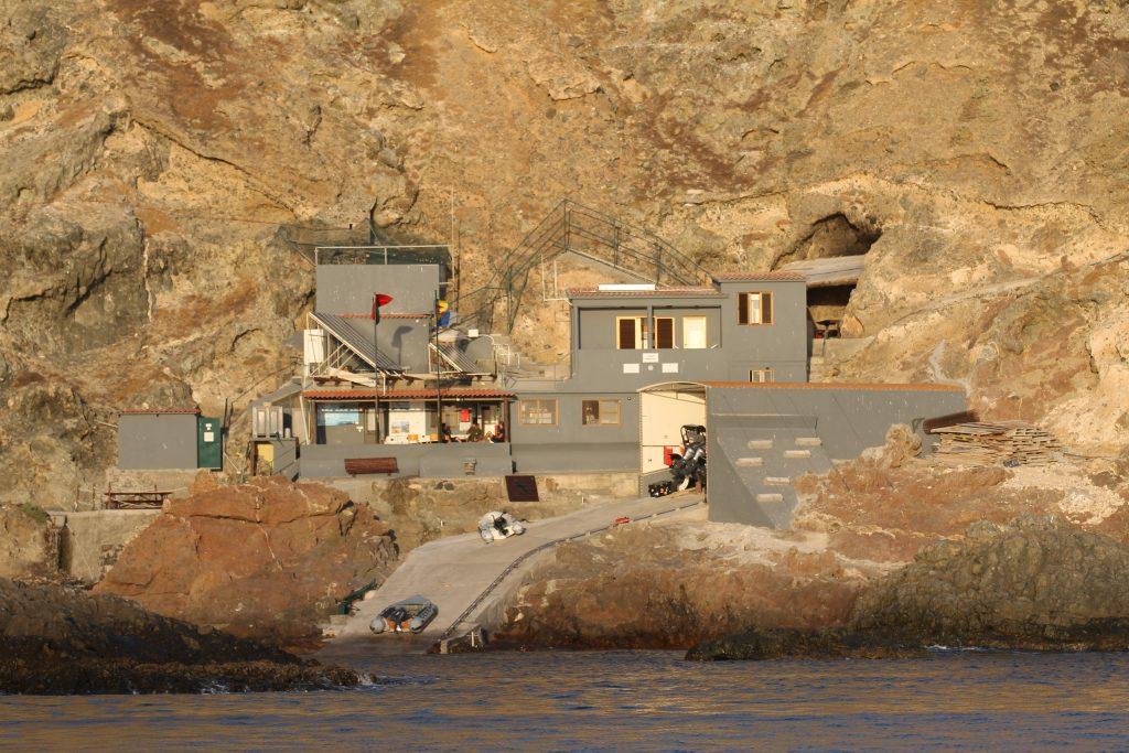 Politi og vagters hus, Salvagem Naturreservat