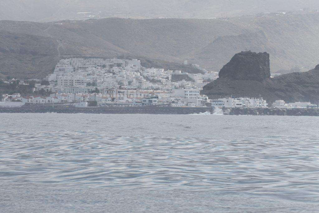 Nieves med Agaatha i baggrunden