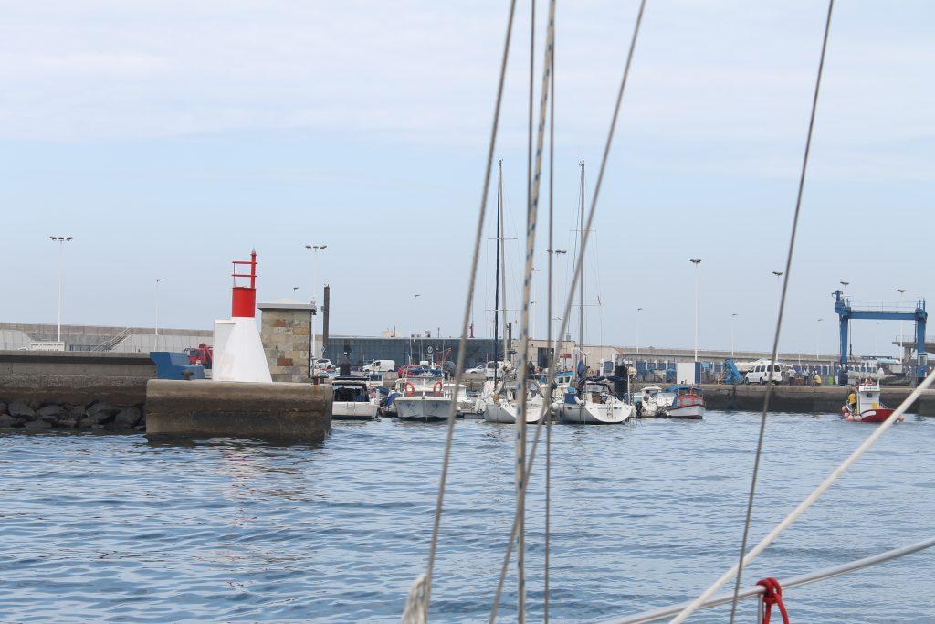 Lystbådehavnen i Nieves