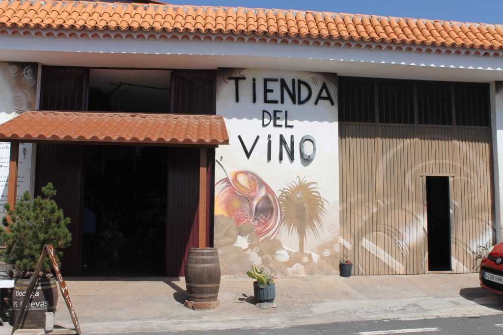 Delikatesse butik, La Gomera