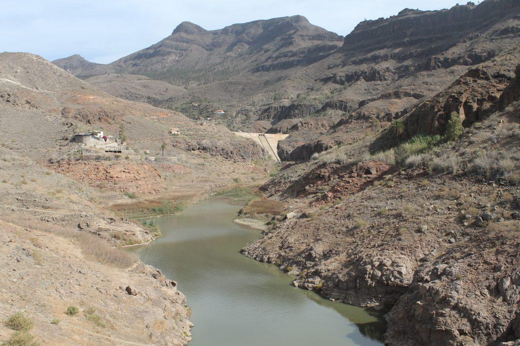 Stor dæmning på Gran Canaria