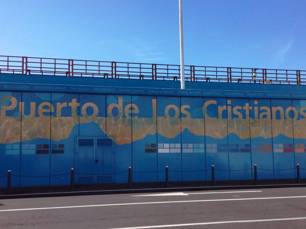 Mellemstation på vej til El Hierro
