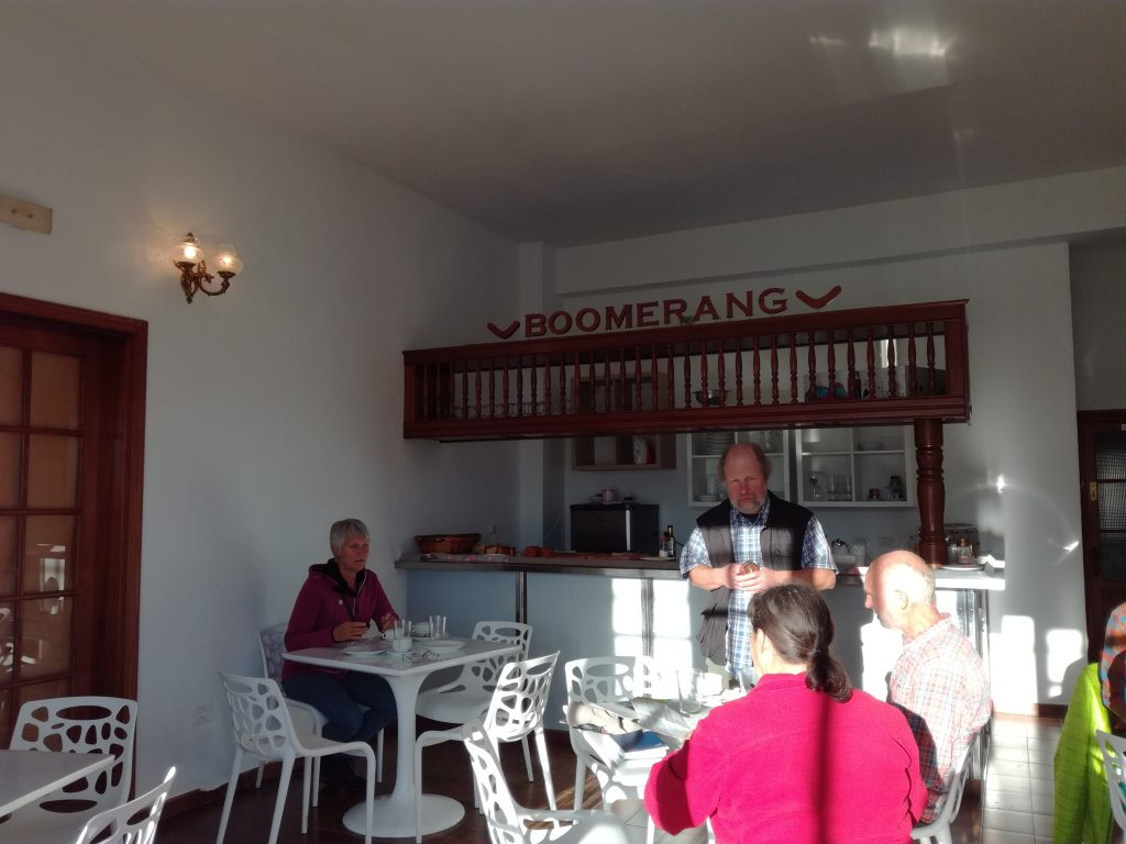 Morgenmadsrestaurant i Valverde