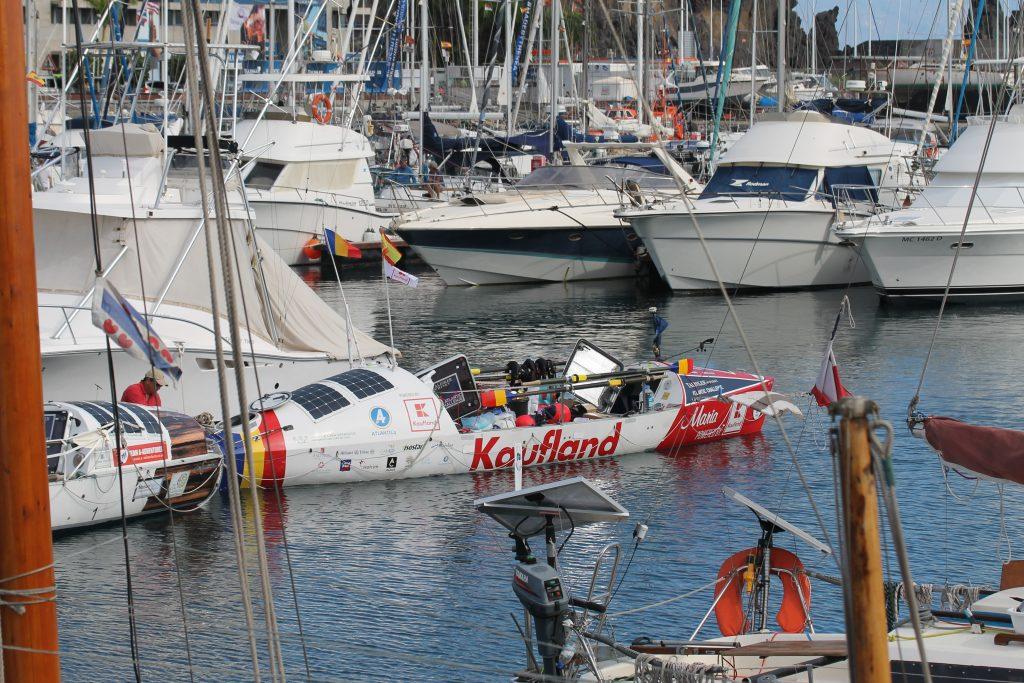 Klargøring til Tallisker Atlantic Challenge