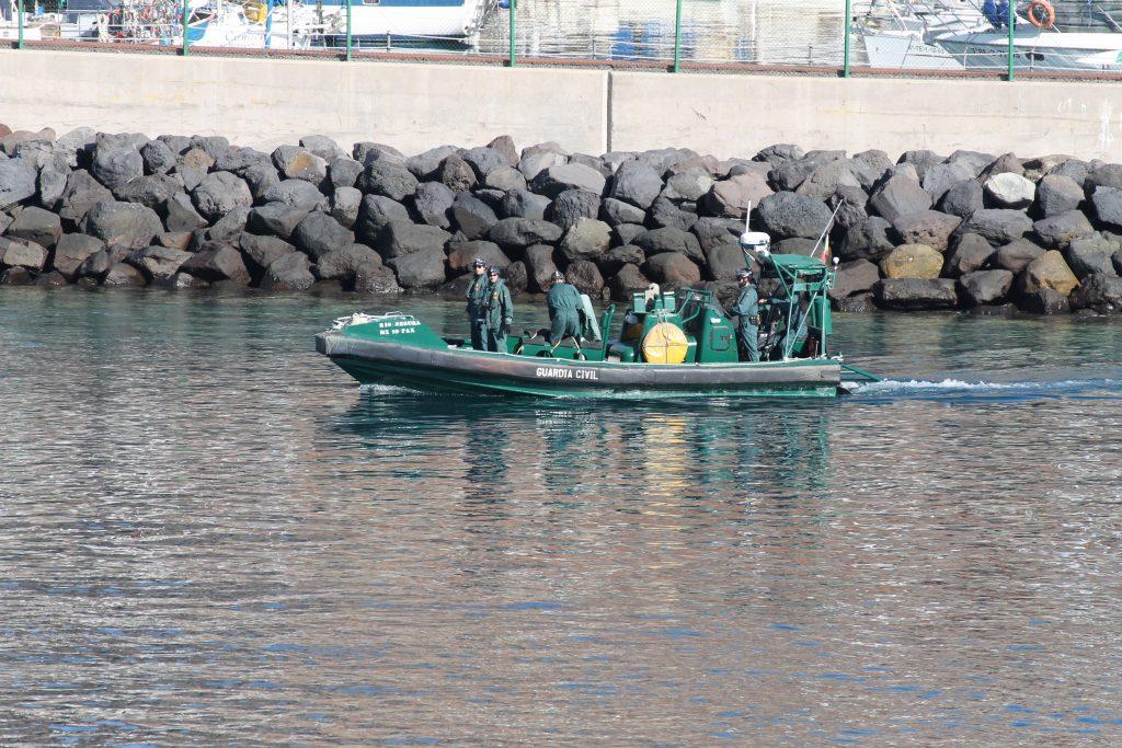 Guardia Civil på patrulje