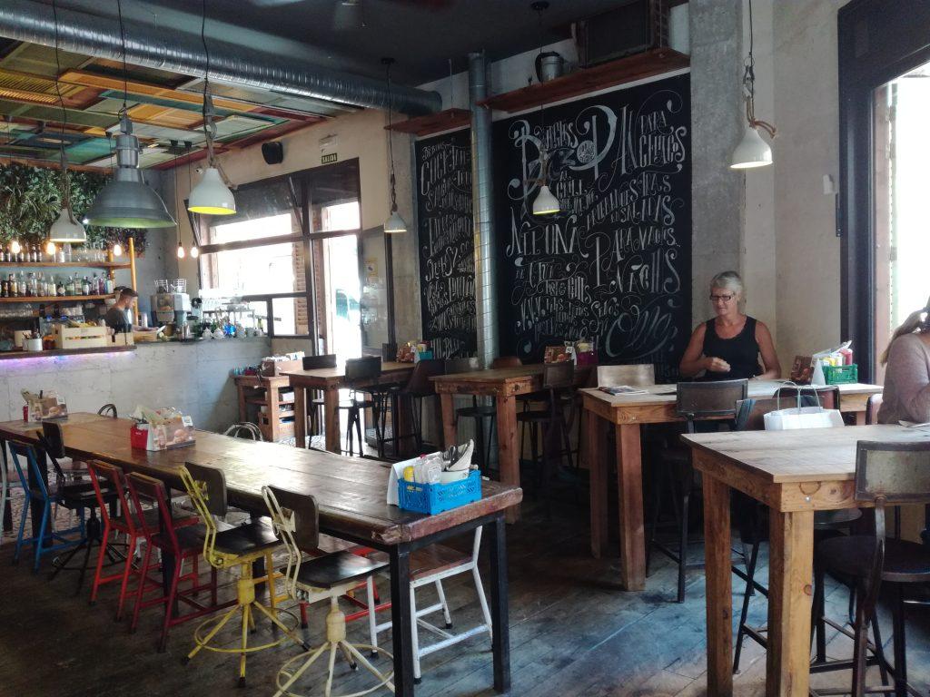 Alternativ restaurant i Las Palmas