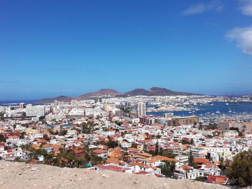 Udsigt over Las Palmas
